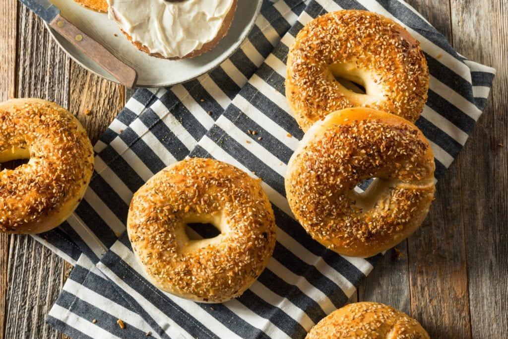 4-Ingredient Protein Bagel Recipe (No Yeast, No Boiling)
