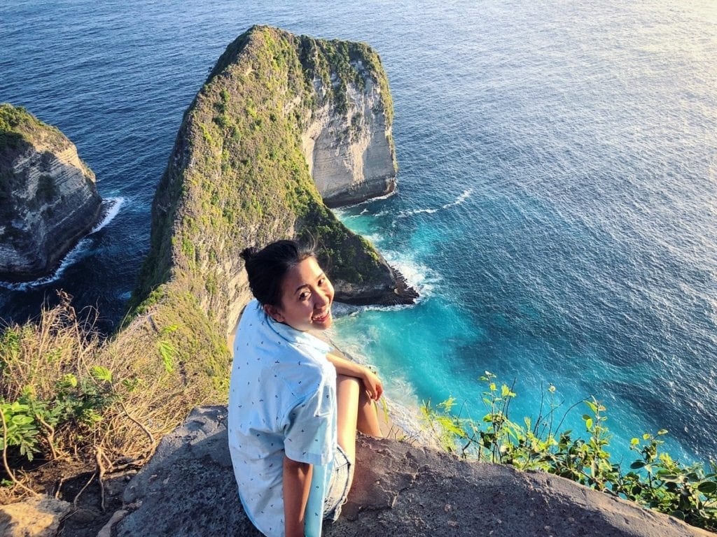 food and travel blogger in Nusa Penida, Bali