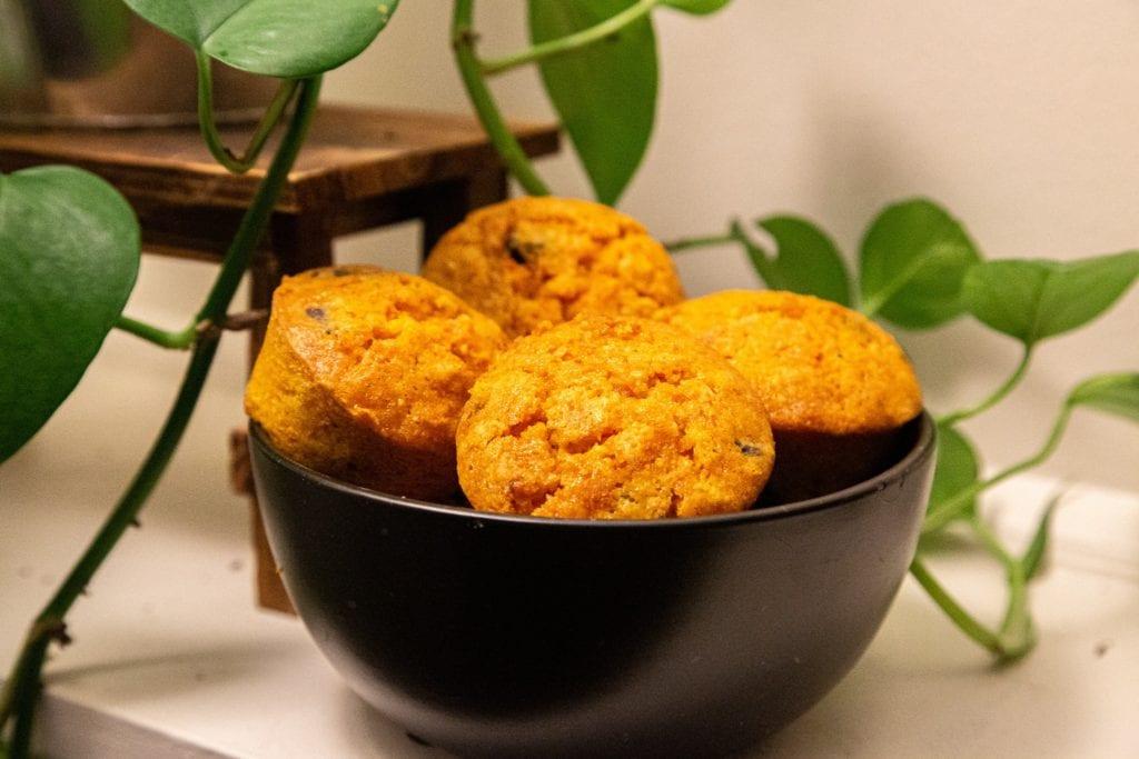 Almond Flour Carrot Muffins (GF, Paleo Options)