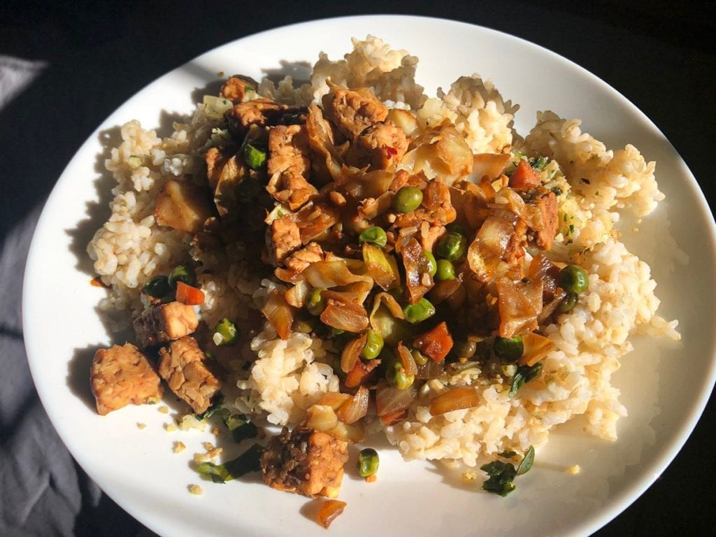 Indonesian Tempeh Rice Bowl (Vegan & Gluten-Free!)