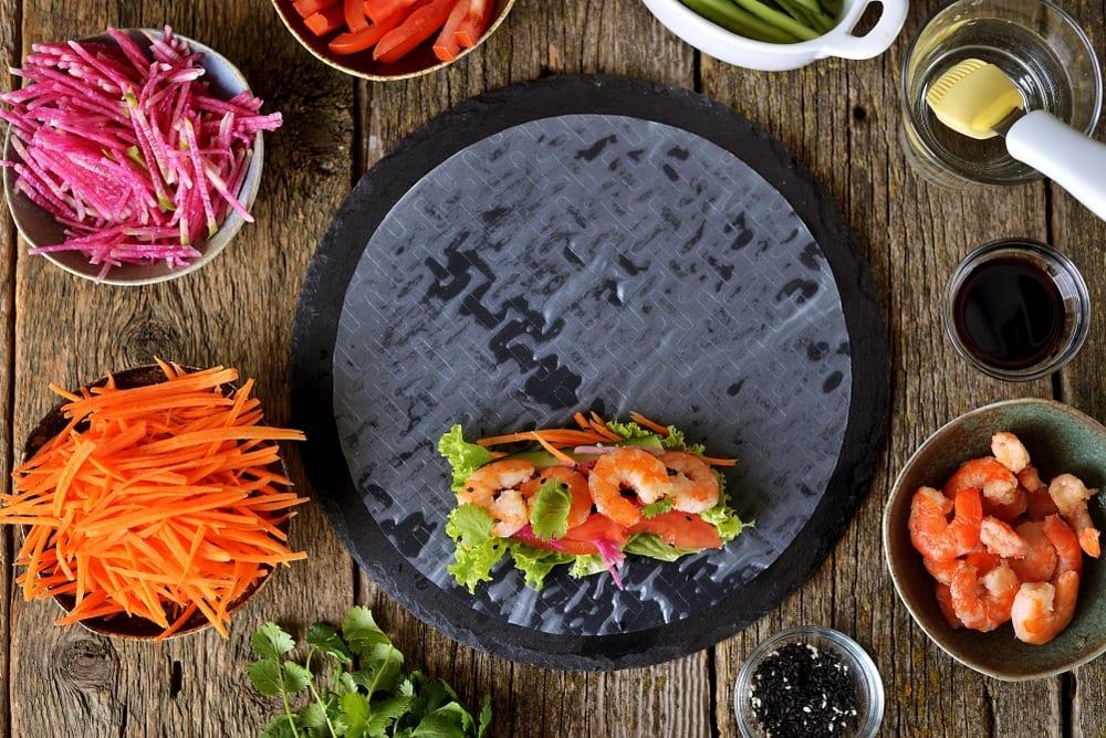 Vietnamese Spring Rolls (Shrimp & Vegan Options)