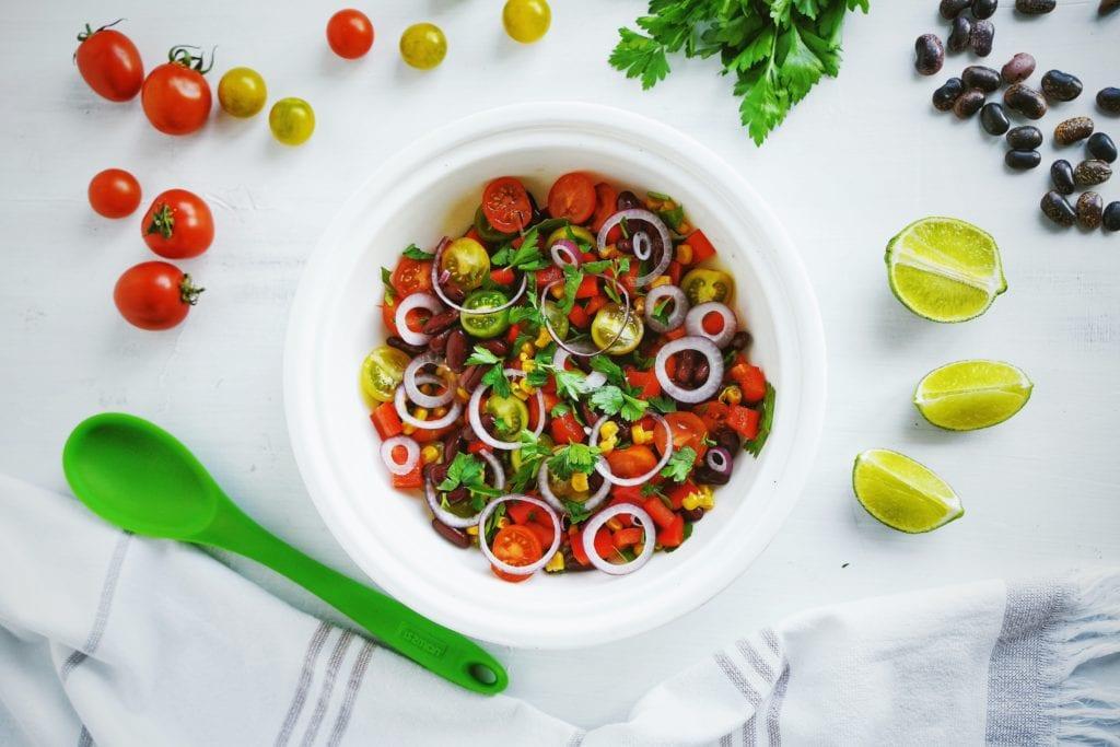 Fresh Mexican Tomato Salad (GF, DF, V)