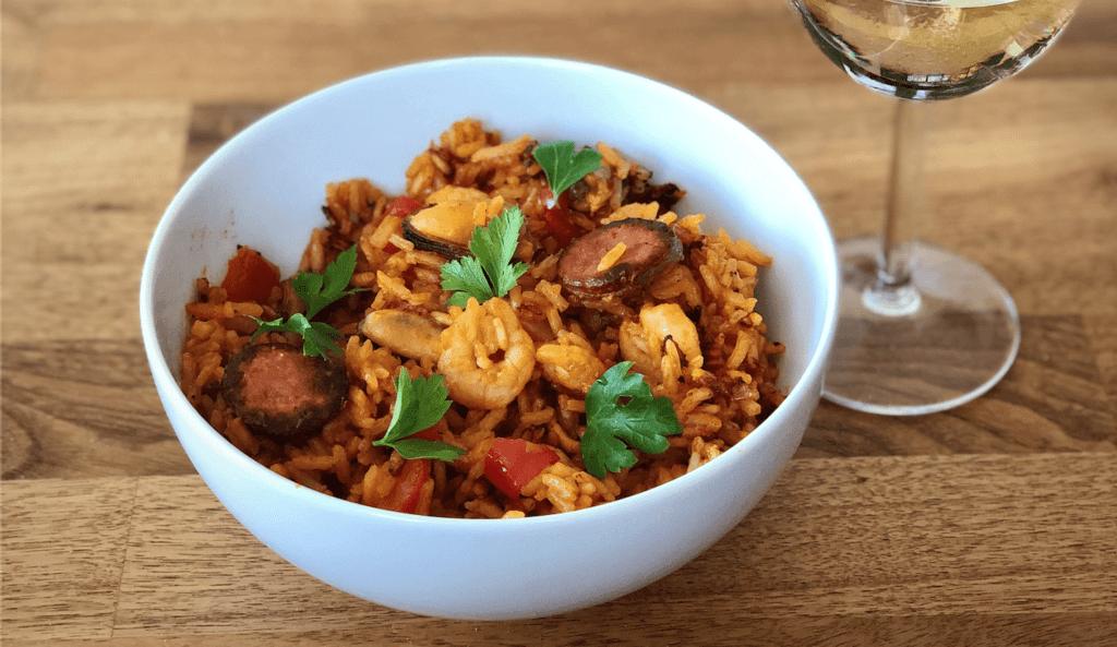 shrimp fried rice asian dinner lunch easy recipes
