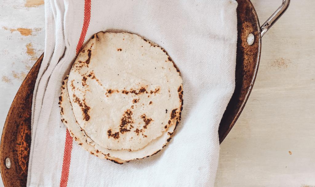 Easy Homemade Flour Tortillas (DF, V)
