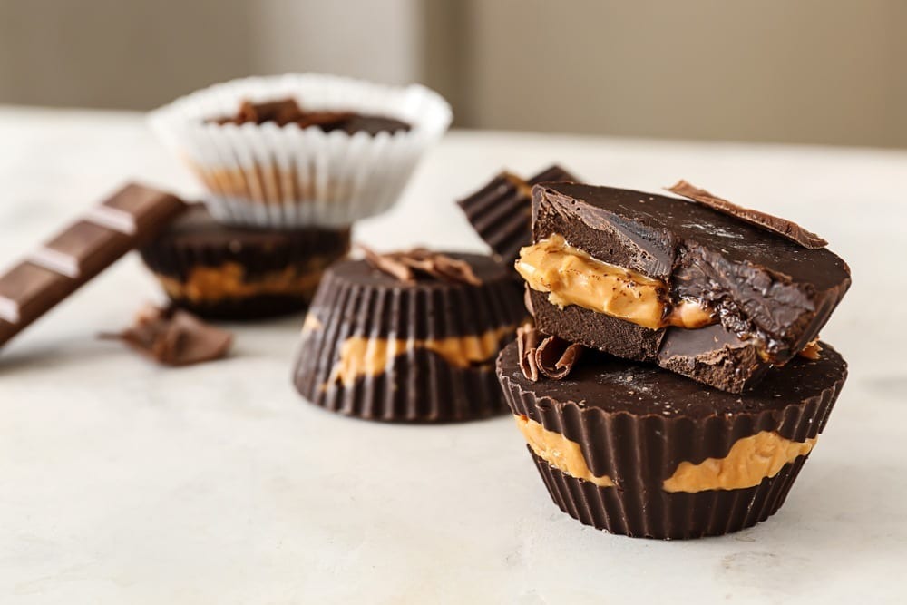Homemade Peanut Butter Cups (Reese's Copycat!)