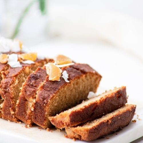 fall quick bread recipe coconut dairy-free gluten-free
