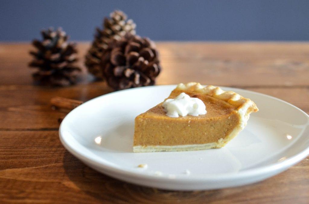 dairy-free vegetarian pumpkin puree thanksgiving recipe easy dessert snack