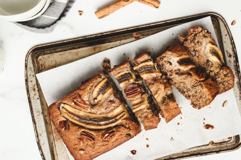 Super Moist Banana Date Bread (Refined Sugar-Free)