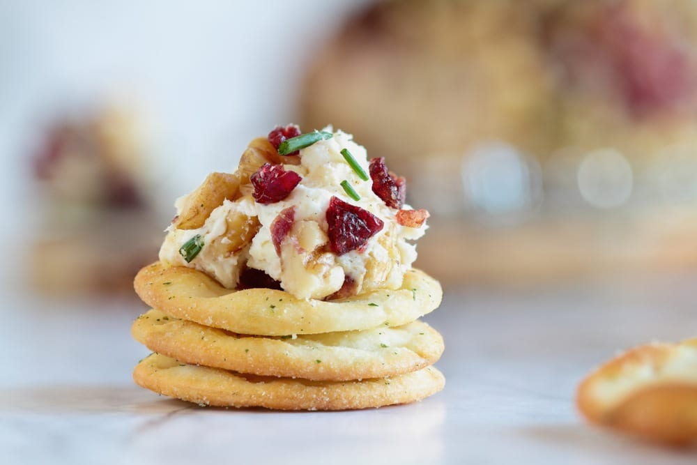 Holiday Favorite Creamy Cranberry Dip (GF, DF, VG)