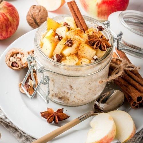breakfast ideas oatmeal oat recipes easy apples chai