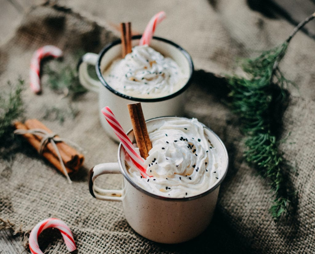 Decadent Peppermint Sipping Chocolate (GF, DF, VG Options)