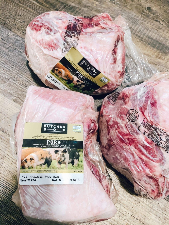 butcherbox review of heritage pork butt boneless