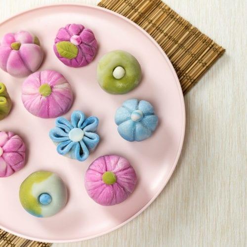 wagashi recipe nerikiri mochi white bean paste dessert japan snack candy