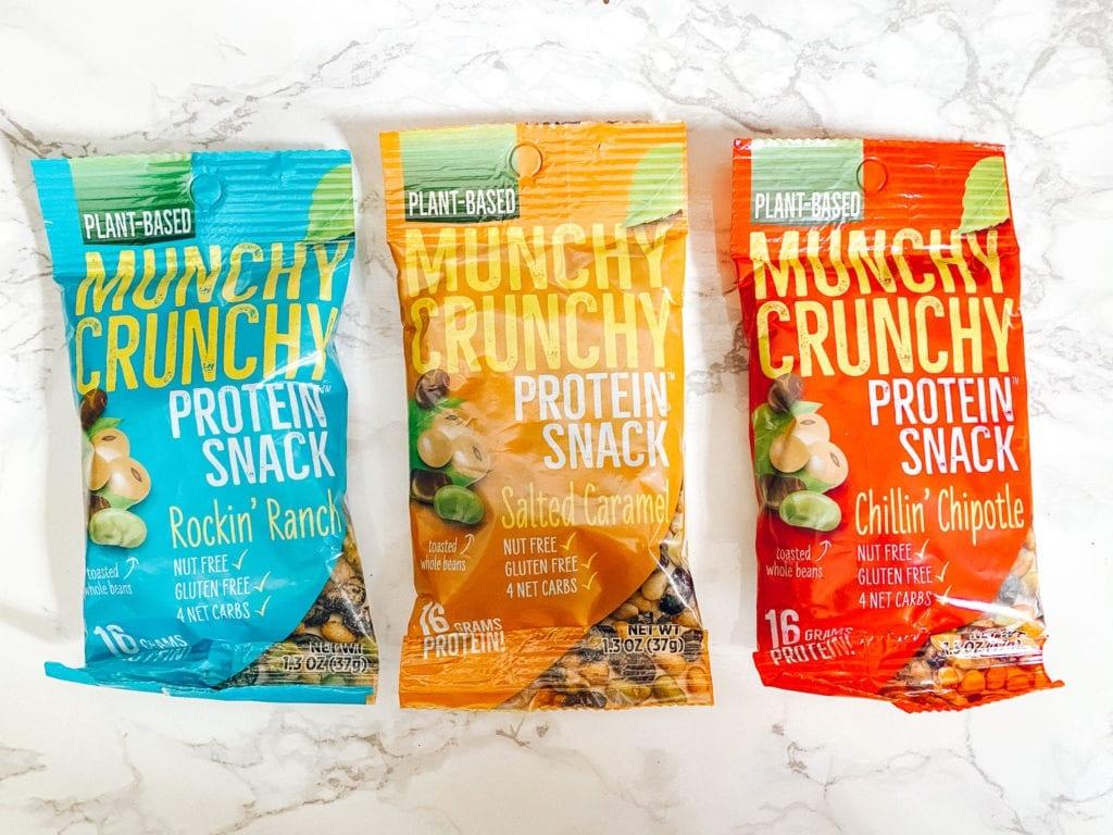 munchy crunchy vegetarian vegan snacks review by vegetarian traveler