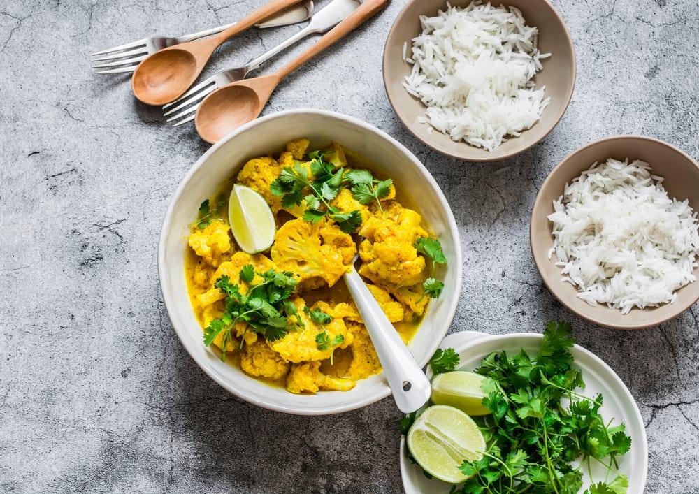1-Pot Vegan Cauliflower Curry (GF, DF, VG)