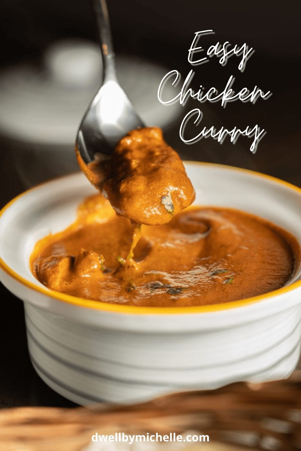 indian curry chicken breast thighs gluten-free easy dinner
