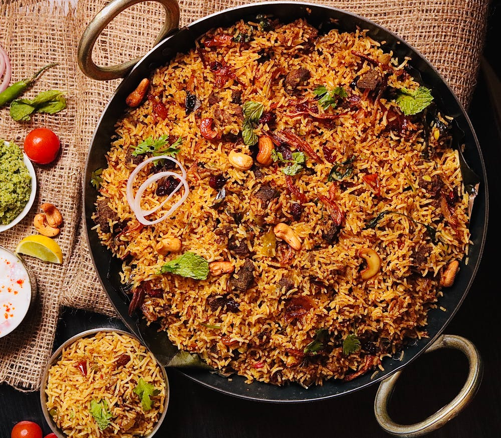 Delicious Malabar Beef Biryani with Pressure Cooker