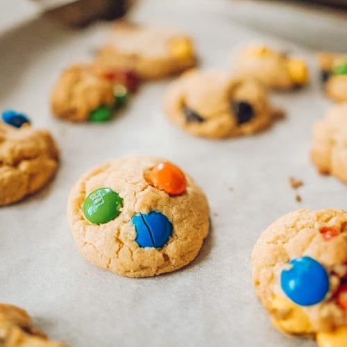 dessert easy snack soft fudgy cookie recipe