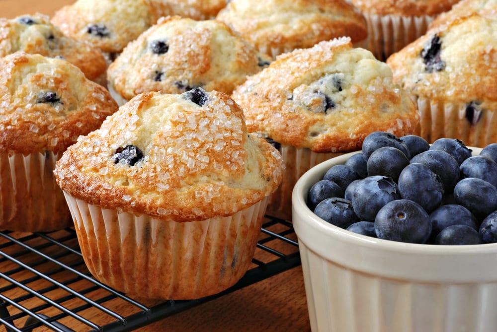 Dunkin Donuts Blueberry Muffin Copycat Recipe