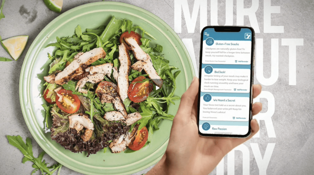 vivoo review urine test kit app gluten-free meal lifestyle
