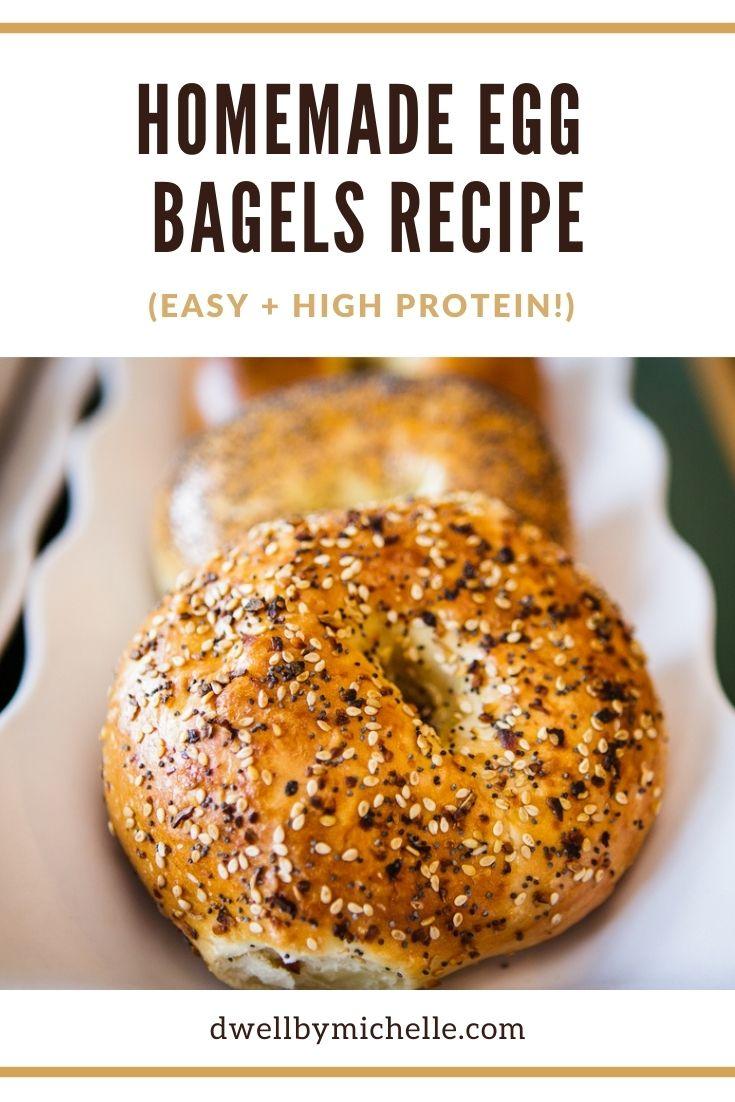 easy high protein egg bagel recipe
