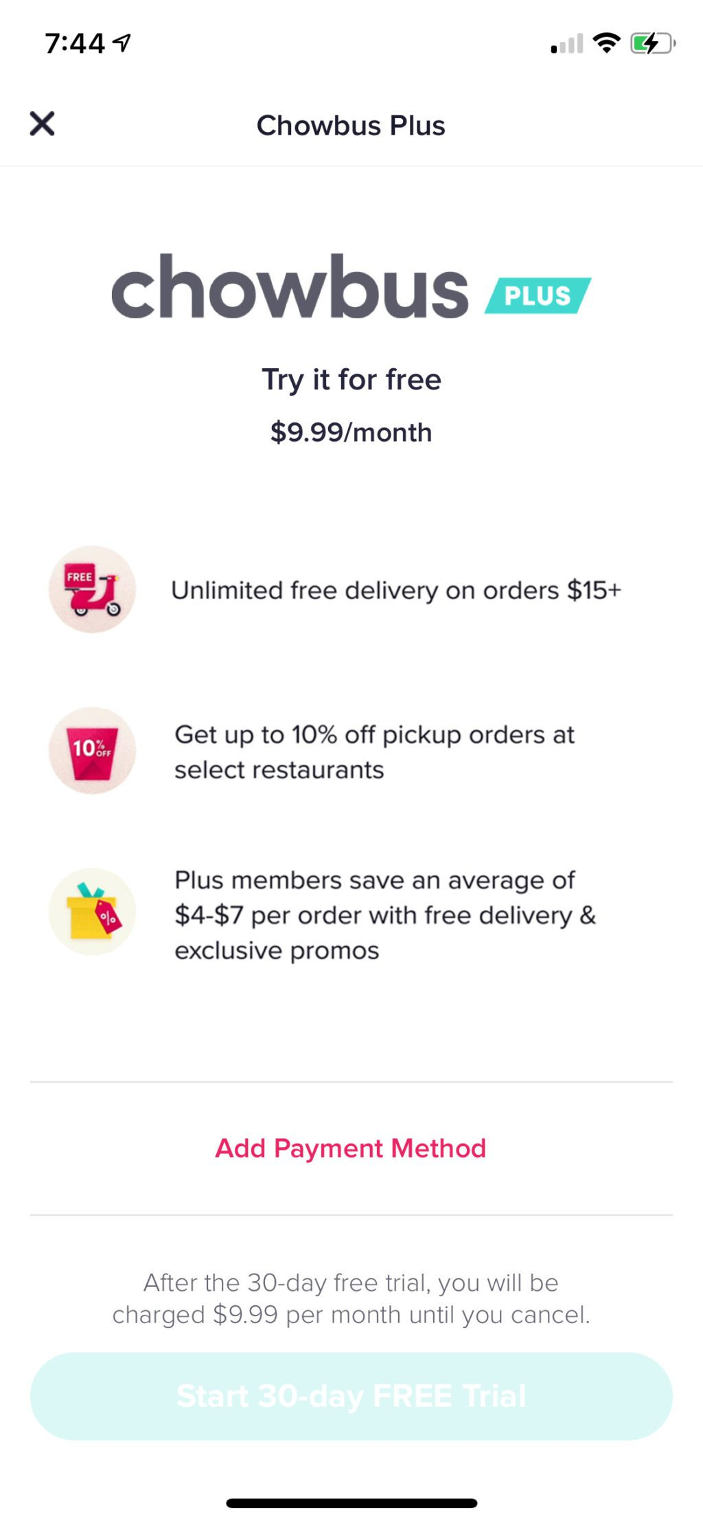 chowbus review asian food delivery service in the bay area US