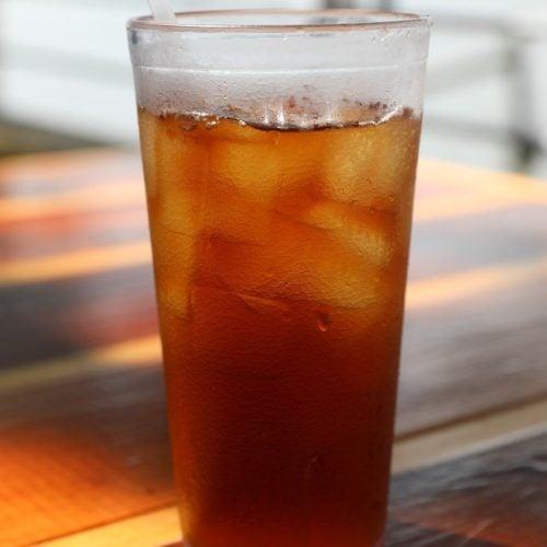 iced sweet tea from mcalisters deli tea