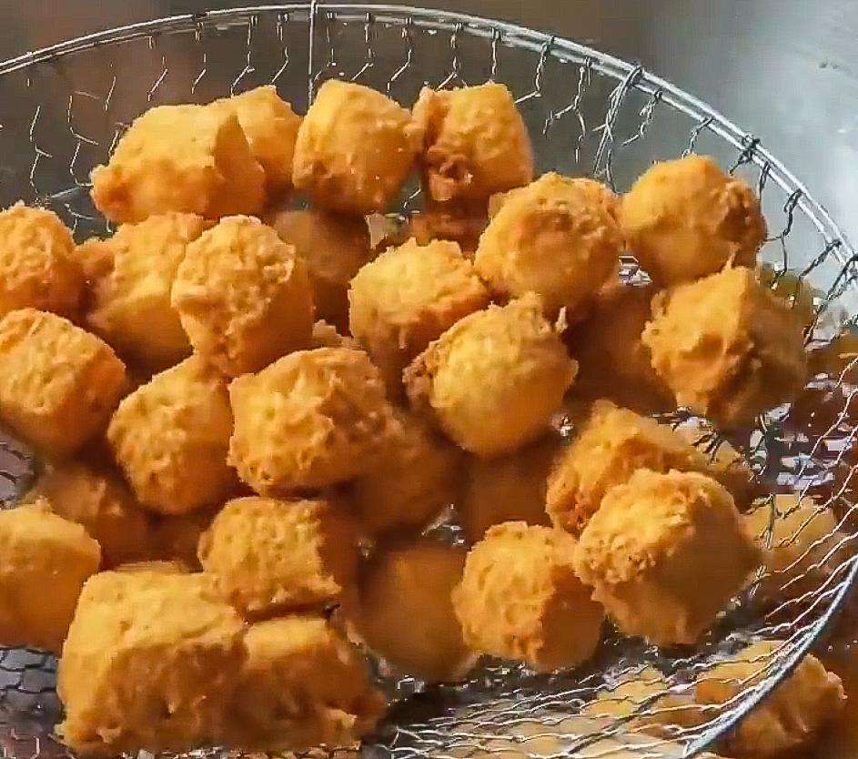 Tahu Goreng Krispi (Indonesian Crispy Fried Tofu)