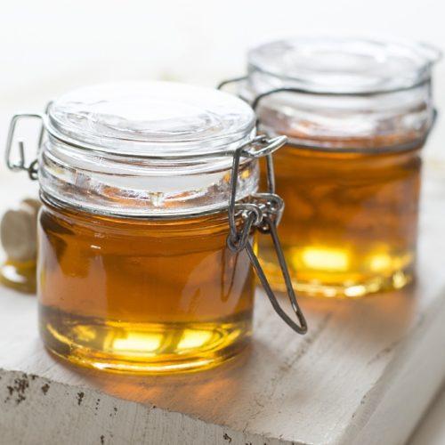 jar of starbucks copycat caramel syrup