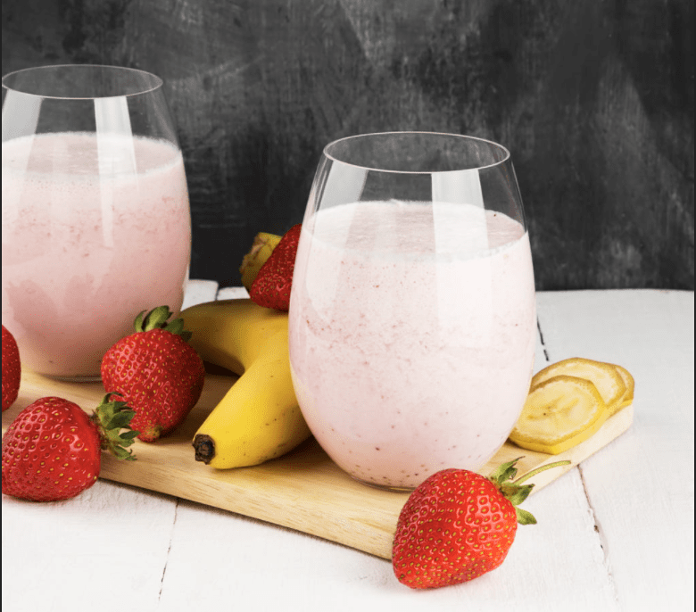 McDonald's Strawberry Banana Smoothie (Better For You Copycat Recipe)