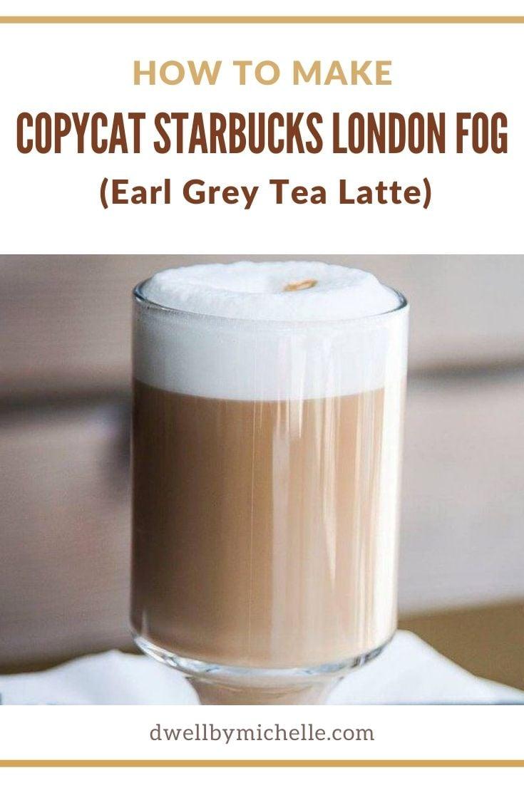 starbucks london fog latte in mug